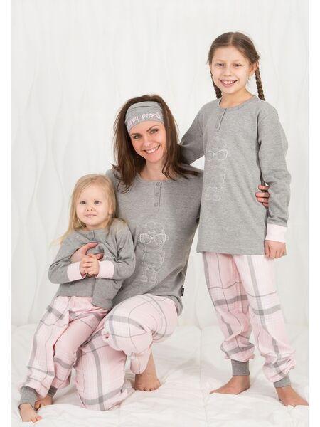 Забавная пижама для девочки с овечкой Happy people HP_3104