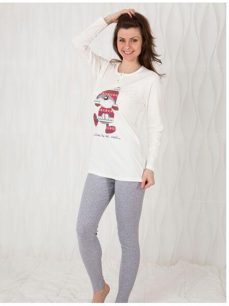 Молодежная пижама из натурального хлопка Bisbigli Bis_92043