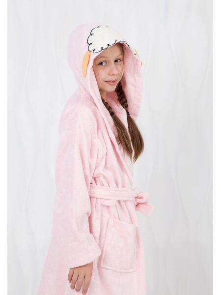 Очаровательный детский халат Happy people HP_2842 rosa