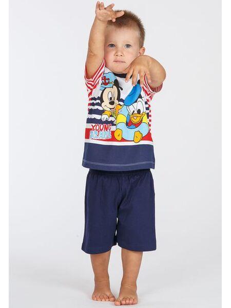 Футболка и шорты для дома с Mickey & Donald Planetex Planetex_WD100336