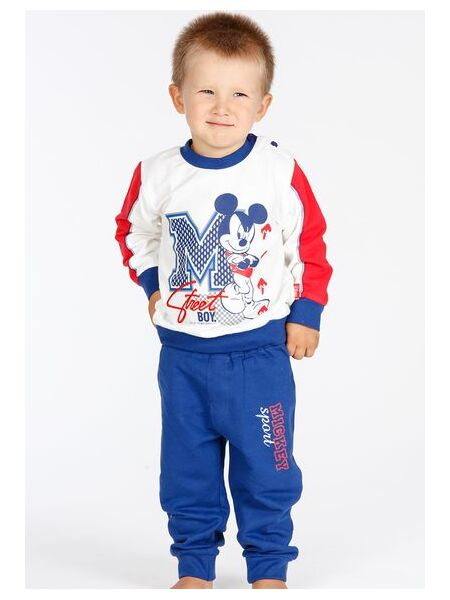 Удобный костюм для дома с Mickey Mouse Planetex Planetex_WD100353 jeans