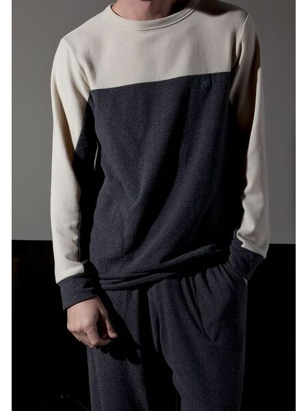 Теплый мужской домашний комплект из смесовой ткани Verdiani VI_U5221