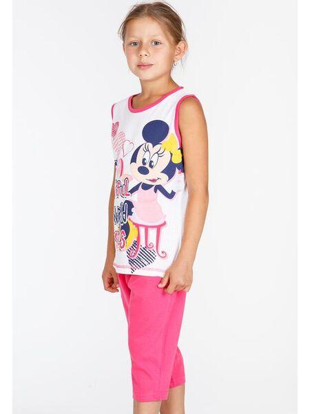 Пижама для девочки с бриджами с Минни Маус Planetex Planetex_WD22533