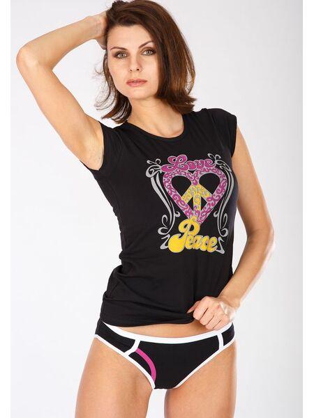 Оригинальный комплект трусы + футболка Snelly Snelly_С6477 nero