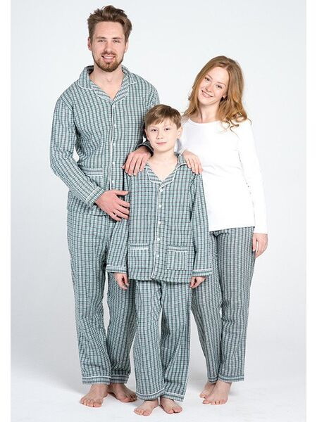 Пижама из фланели для мальчиков от 2 до 16 лет Allegrino Pellegrini_Charly boy flanella 805