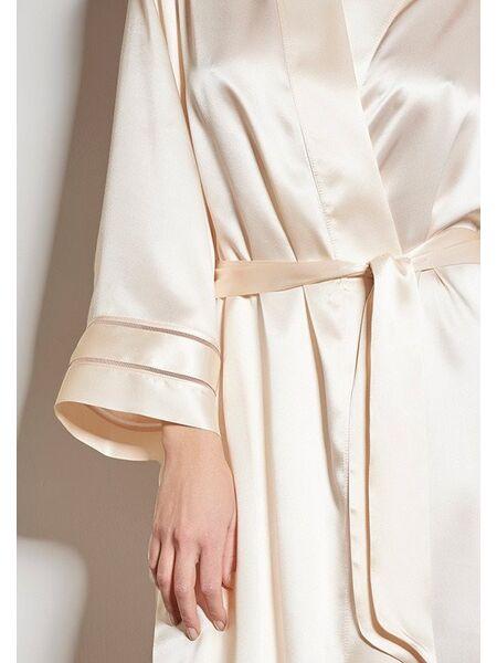 Шелковый халат нежной расцветки Verdiani VI_4807