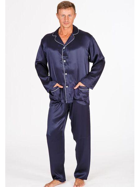 Шелковая мужская пижама B&B B&B_U501-Herman