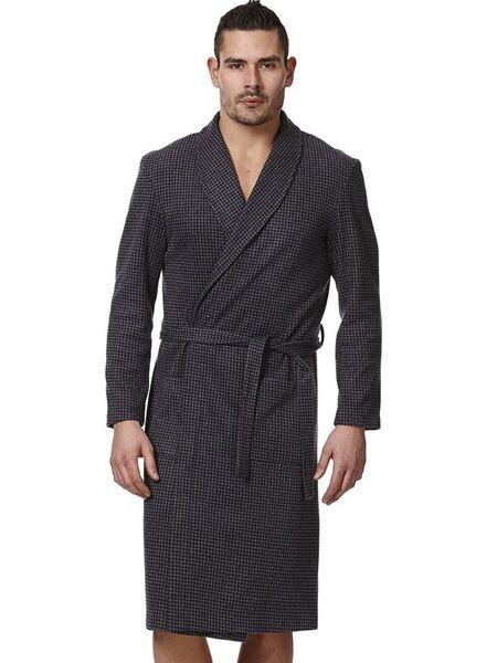 Теплый трикотажный мужской халат Vilfram VU_7712