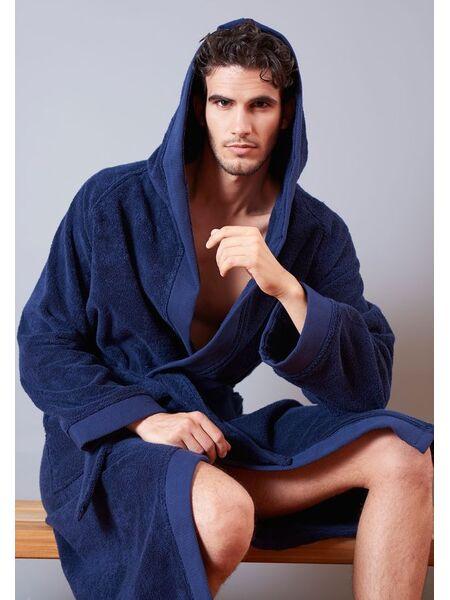 Мужской махровый халат с капюшоном Verdiani VI_AKU5