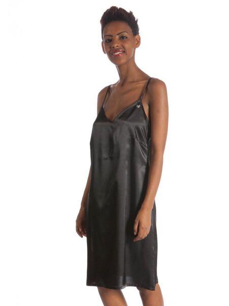 Роскошная шелковая ночная сорочка B&B B&B_Krizia nero