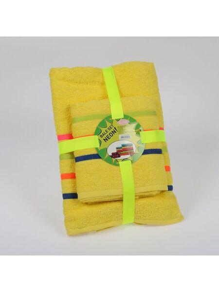 """Набор махровых полотенец """"KARNA"""" BALE NEON 50Х80-70Х140 1/2"""