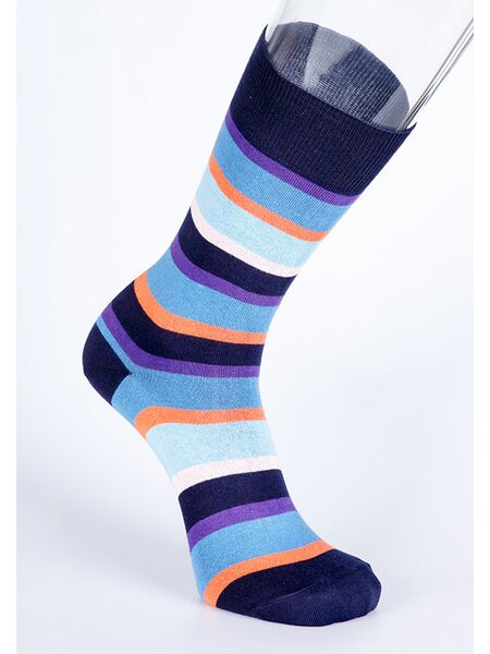Итальянские полосатые носки для мужчин Best Calze Best Calze_5710 В