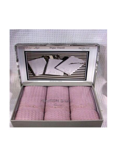 Комплект вафельных полотенец класса Премиум Brice Ape (LMD) 3 шт.