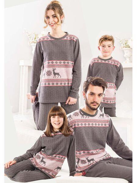 Теплая домашняя одежда для девочки Pop corn R7382