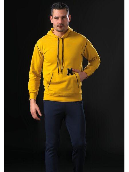 Спортивный костюм для мужчин с капюшоном Manam MU_9023