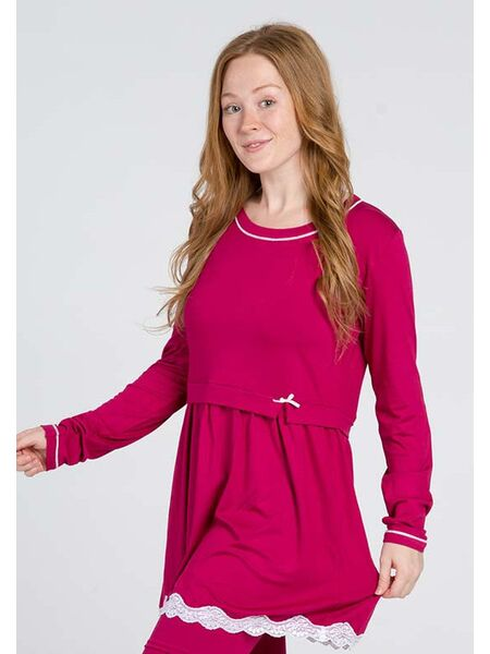 Яркая пижама из вискозы Vilfram V_9577