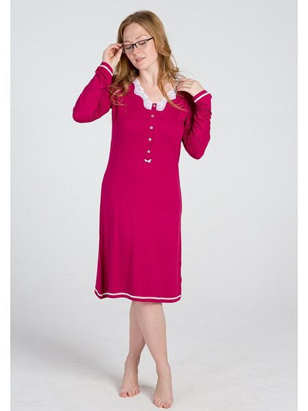 Женская ночная сорочка из вискозы Vilfram V_9576